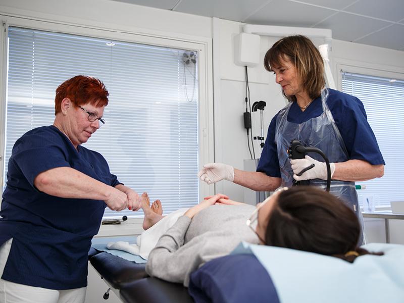 Klinikken har det mest højteknologiske udstyr på markedet